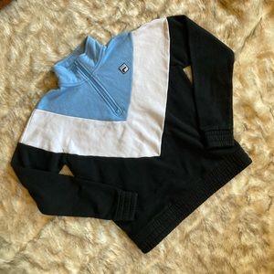 Fila Color Block Half Zip Pullover